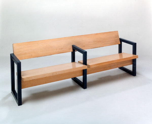Bench front