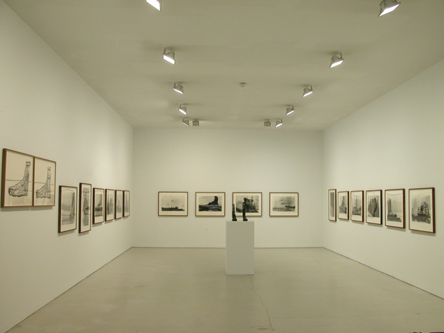Bhabha reconstructions  installation view