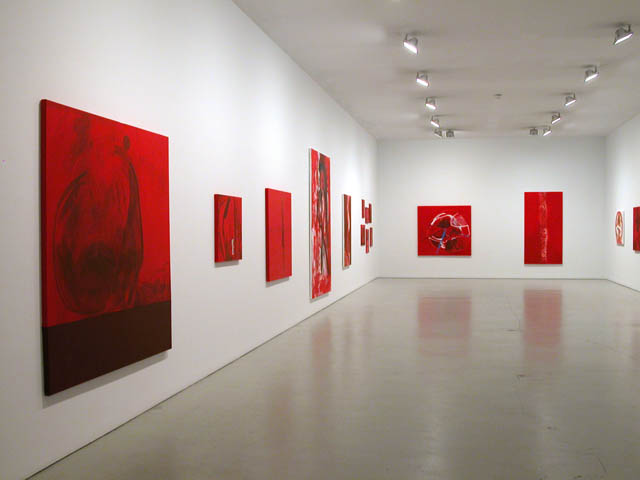 Gallery left and back wall