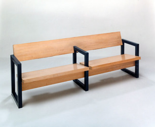 Small bench front